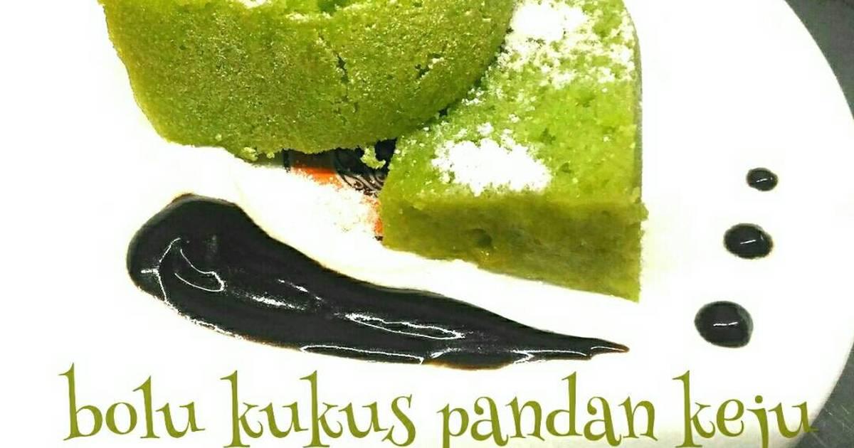 Bolu kukus pandan keju ( no mixer no oven ) - 1 resep - Cookpad