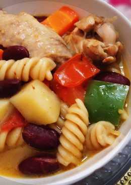 Pasta Chicken Soup