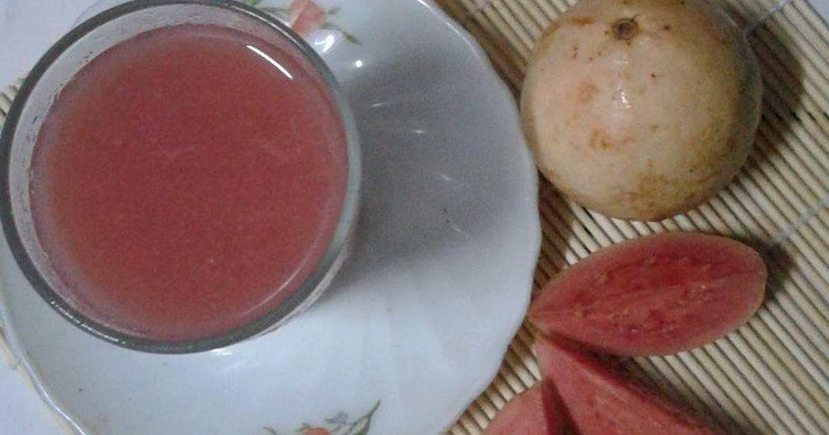Resep Jus jambu merah