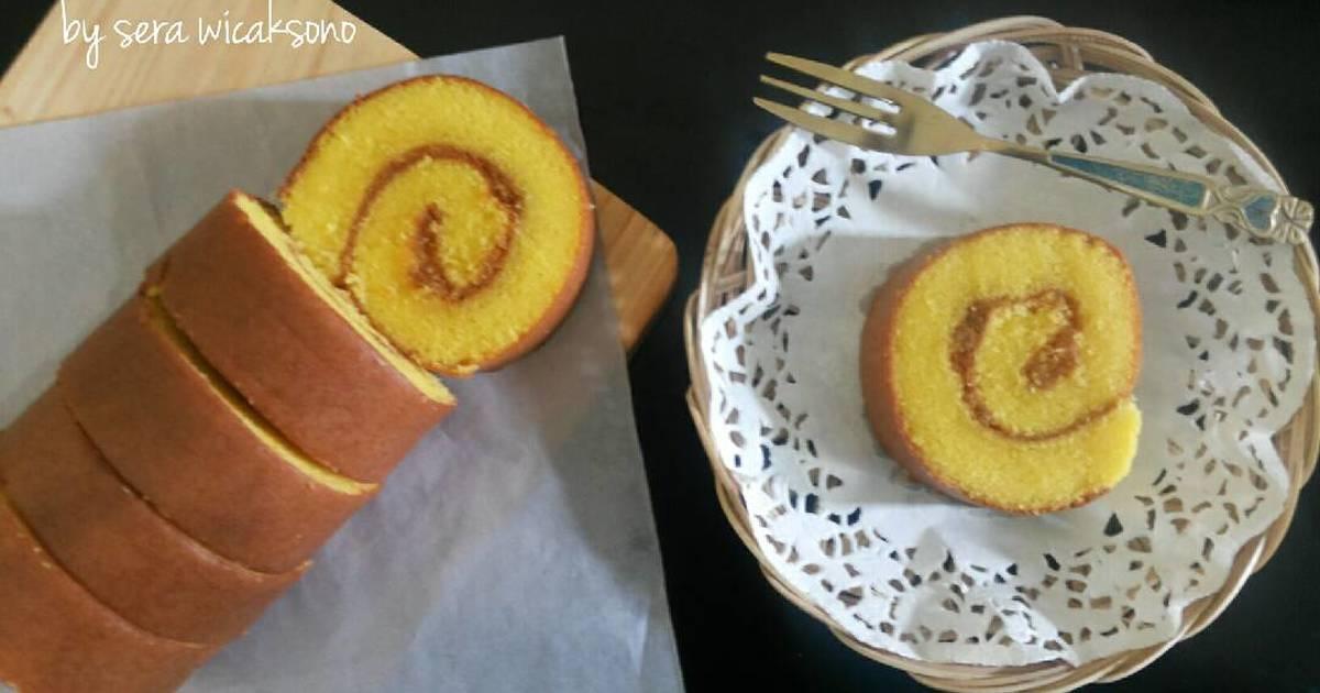 Resep Ananas Roll Cake