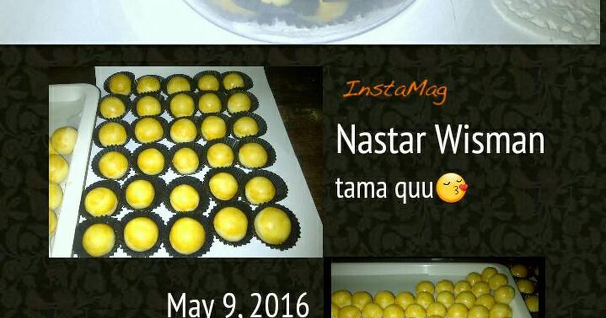 Resep Nastar Wisman lumer