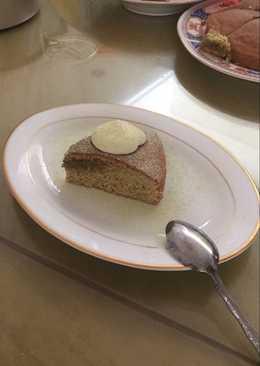 Simple Green Tea Cake