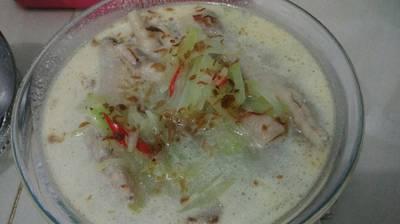 Sayur Lodeh Ceker Labu Siam Sederhana