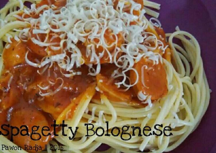 Resep Spagetty bolognese - Fifi - Pawon Radja