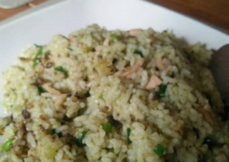 Resep Nasi goreng tuna hijau Dari ima khansa