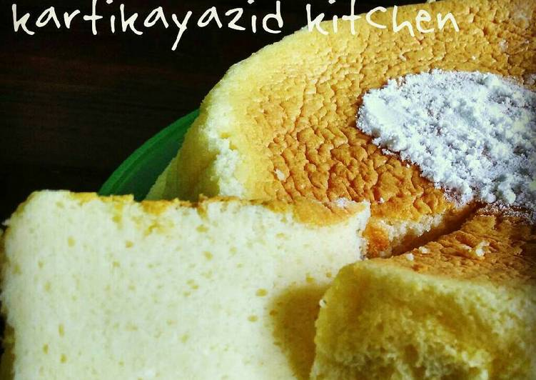 Resep Cheddar cotton cheesecake By kartika yazid
