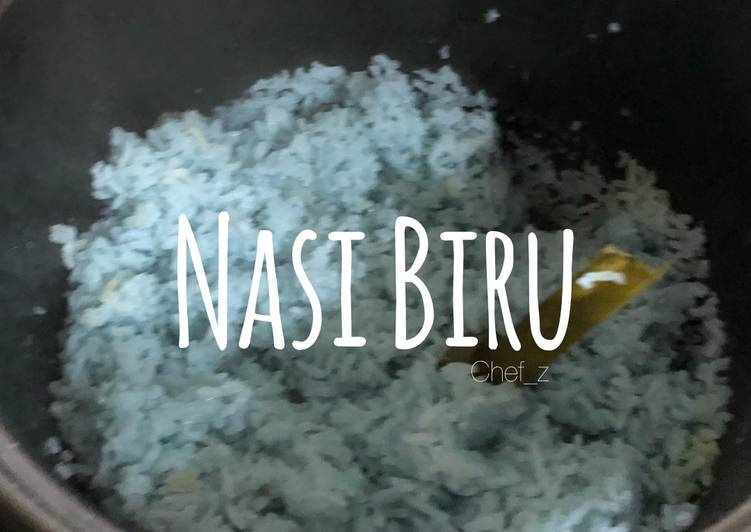 Nasi Biru #rabubaru