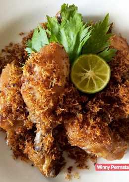 27. Ayam Goreng Serundeng #BikinRamadanBerkesan