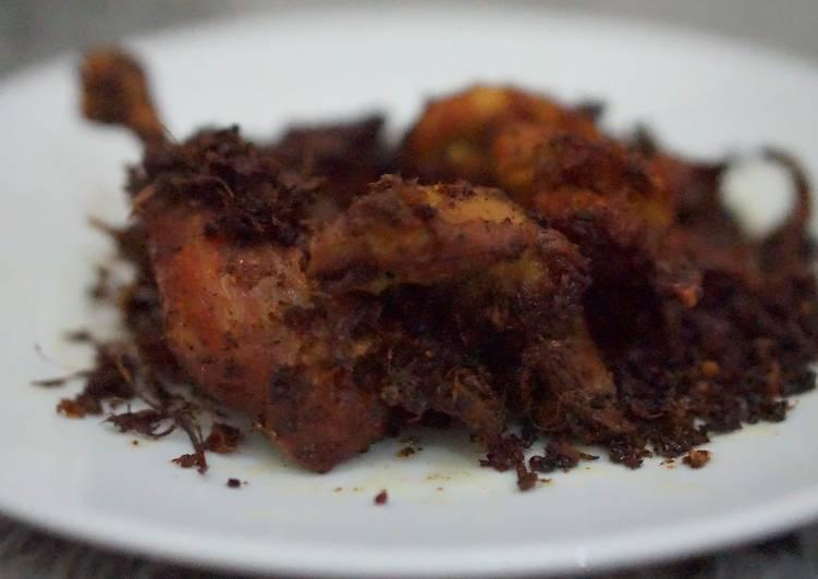 Ayam bumbu khas minang