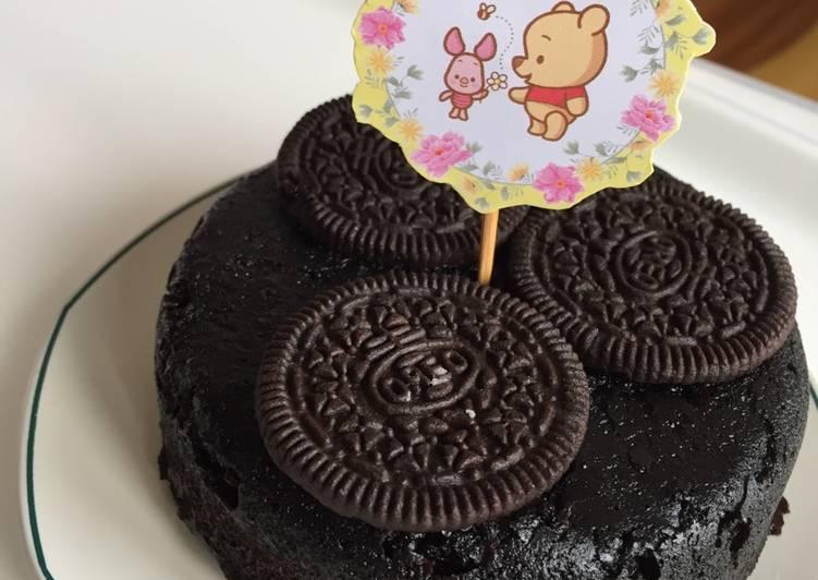 Oreo Steamed Cake (MPASI 1y+)