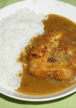 Kari ayam (japanese curry)