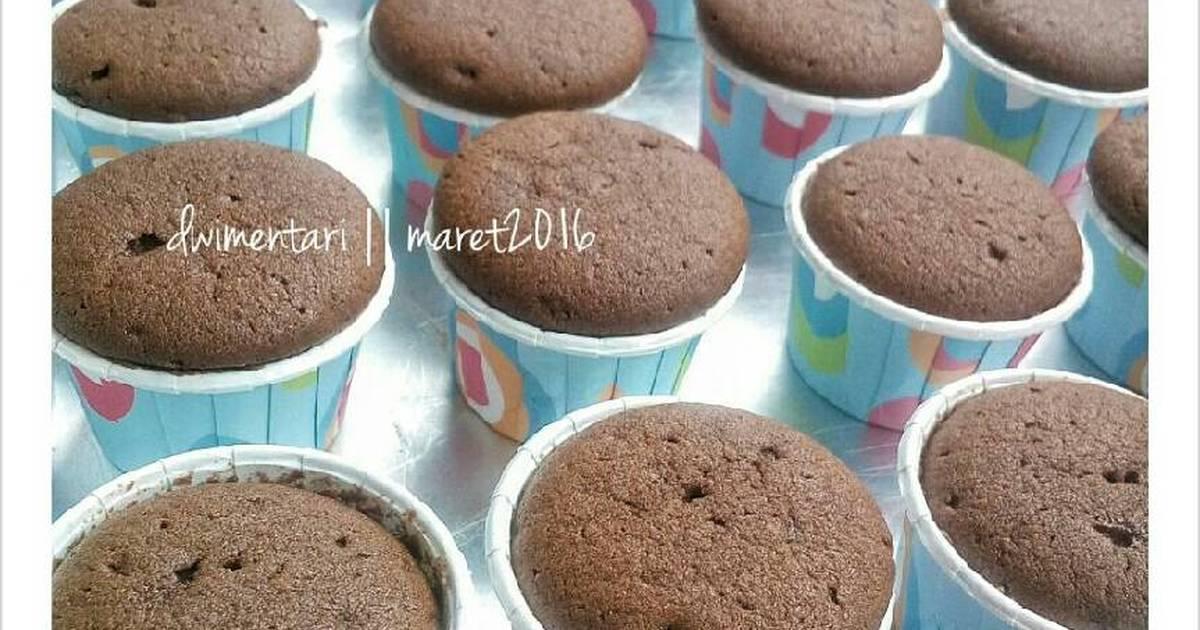 Resep Kue Bapel Ncc: Resep Kue Lebaran: Resep Cupcake (Buttercake Dasar 2 Telur