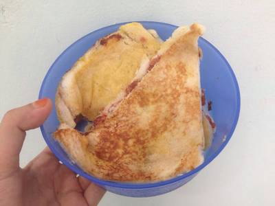 Roti Bakar Kornet Keju