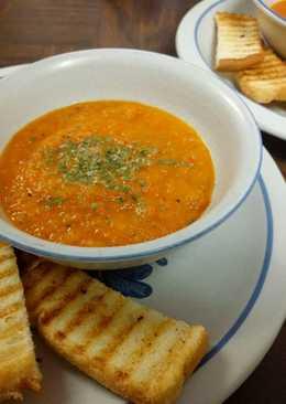 Sup Tomat dan Paprika