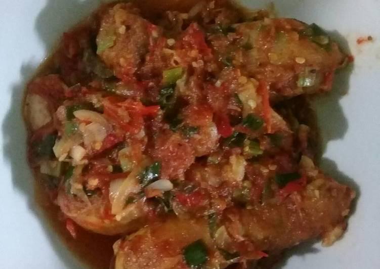 resep ayam asam pedas manis  rizma bunga dapane  resep masakan nusantara Resepi Ikan Tenggiri Jeruk Enak dan Mudah