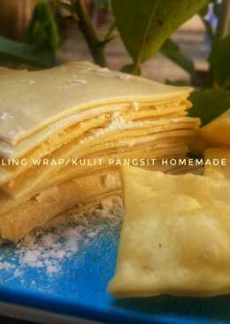 Dumpling Wrap/Kulit Pangsit Homemade