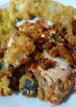 Ayam geprek simple ala mimi Shidqya