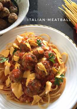 66 Resep Spageti Meatball Enak Dan Sederhana Cookpad