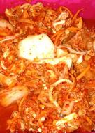 Kimci korea dengan cumi