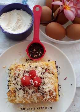 Cotton cake Susu kental manis