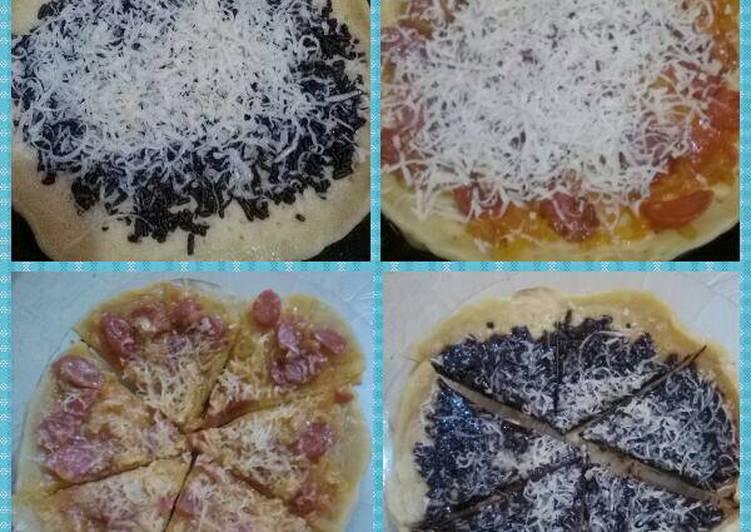 Resep Pizza Teflon sederhana (utk pemula) Kiriman dari Dwi Veranita