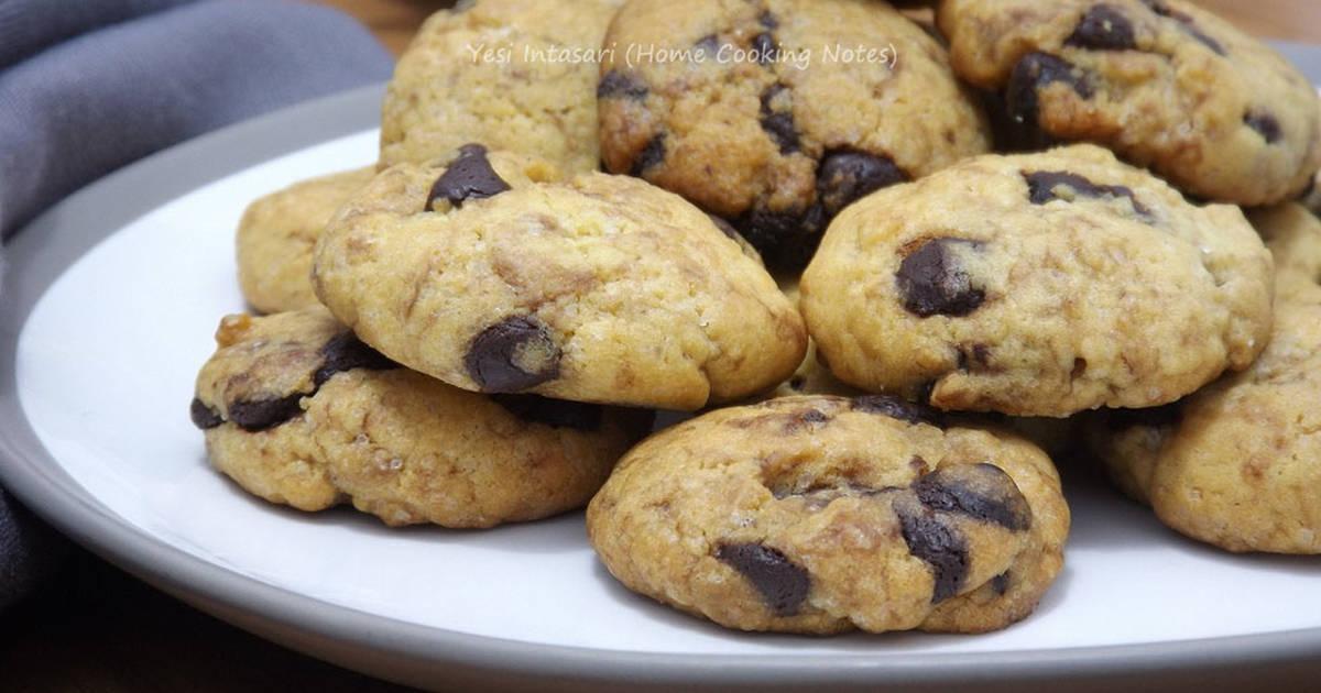 Resep Homemade Chocochips Cookies