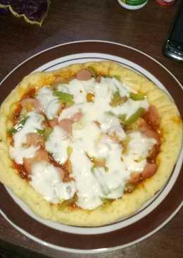 Pizza teflon simple dan enak bikin nagih