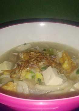 Sup Tahu Baso Campur