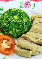Singapore Chicken Rice Keto Low Carb