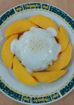 Ketan Mangga (Mango Sticky Rice)