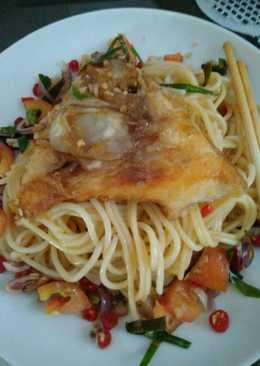 Spaghetti Nila Sambal Matah