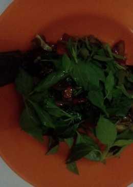 Ikan Nila goreng sambal kemangi