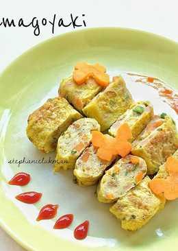 Tamagoyaki (Telur dadar ala Jepang / Japanese style omelette)