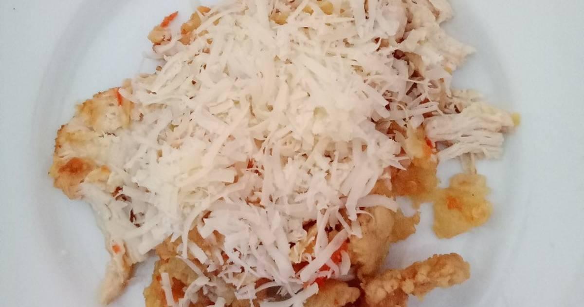 3 resep ayam prekju geprek keju enak dan sederhana   cookpad