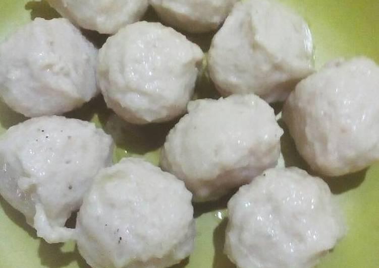 Bakso Ayam Bantingan (no msg, no pengembang, no pengenyal)