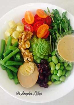 Salad sayur,menu sehat & sederhana