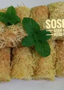 Sosis Ayam Keju #PR_Risoles dkk