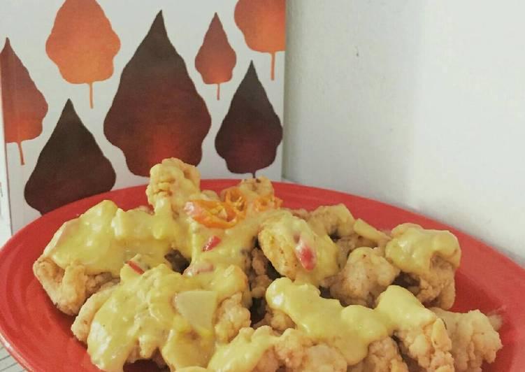 Chicken Salted Egg #BikinRamadanBerkesan