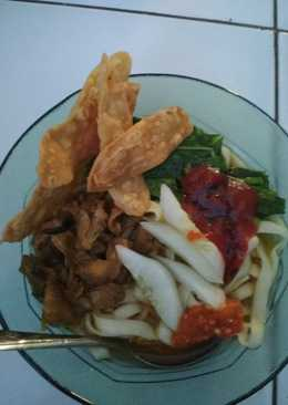 Mie ayam simple