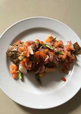 Ikan nila sambal dabu-dabu