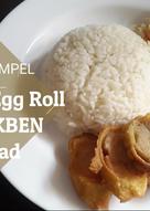 Chicken Egg Roll + Salad ala HOKBEN | No Blender/Foodprocessor