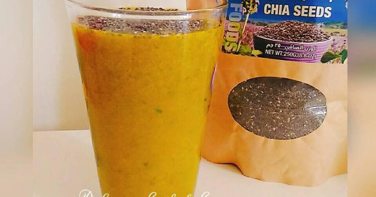Resep Kale Papaya Manggo Smoothie