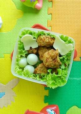 Bakso Goreng Ayam #keto_cp_bento