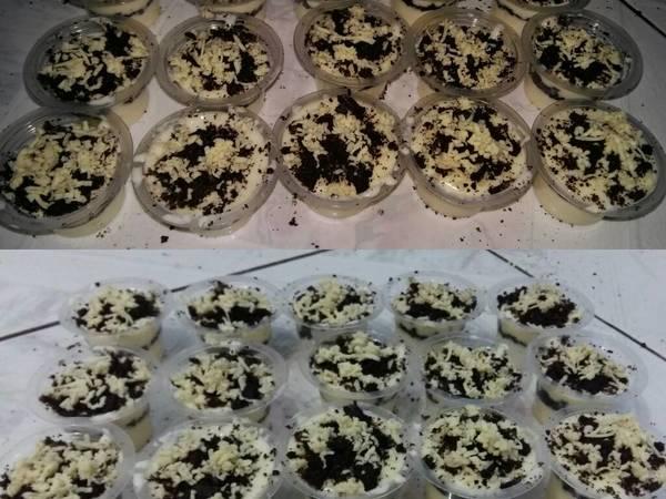 Chesse Cake Lumer topping oreo