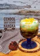 Es Cendol sirop gula merah + Nangka #kamis manis