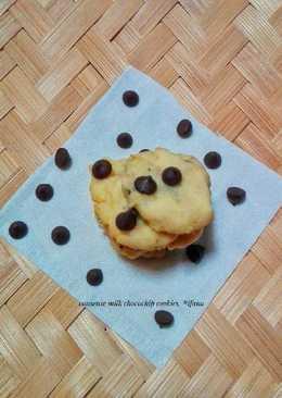 Condense milk chocochip cookies #kamismanis