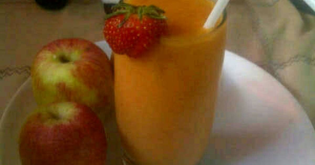 Resep smoothies mango and strawberry for diet