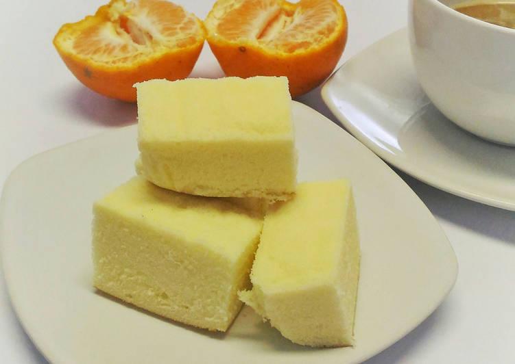 Resep Cake Cheese Kukus: Resep Steamed Cheese Cake / Cake Keju Kukus Lembut Oleh