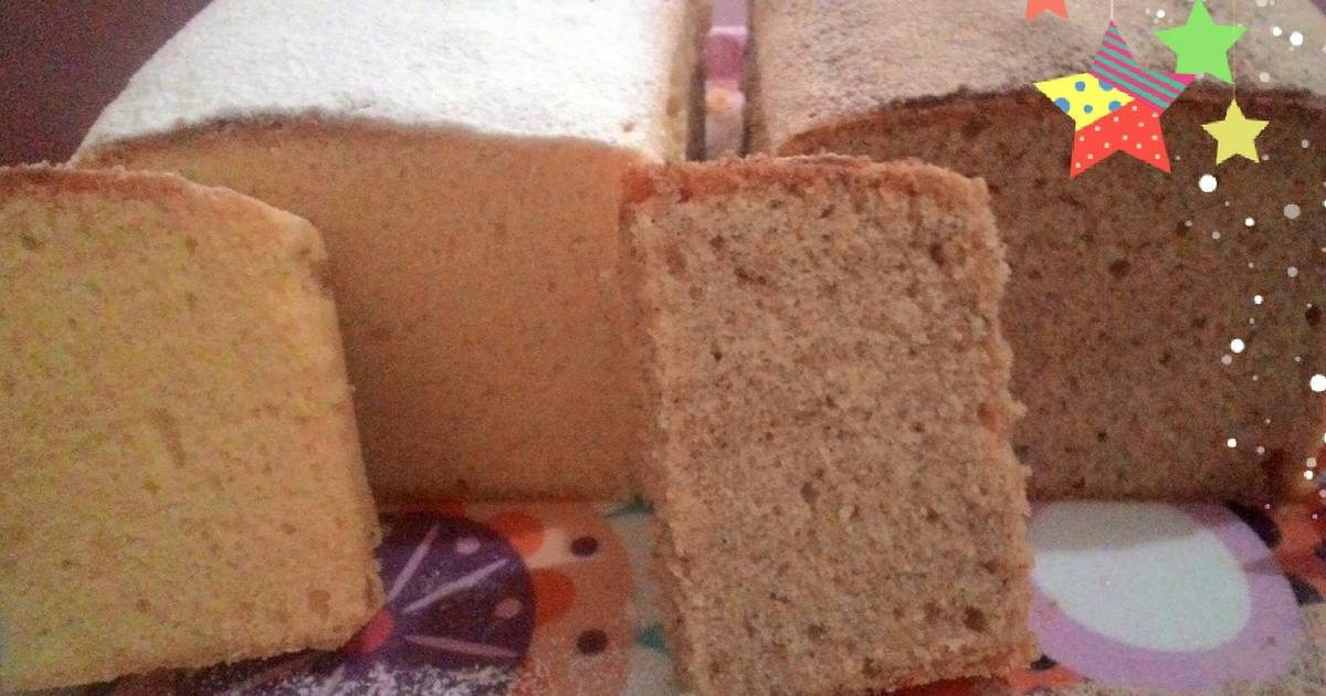 Resep Butter cake lembut empuk (tidak beremah)