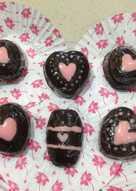 Chocolate Valentine with nutella (rinecatekitchen)